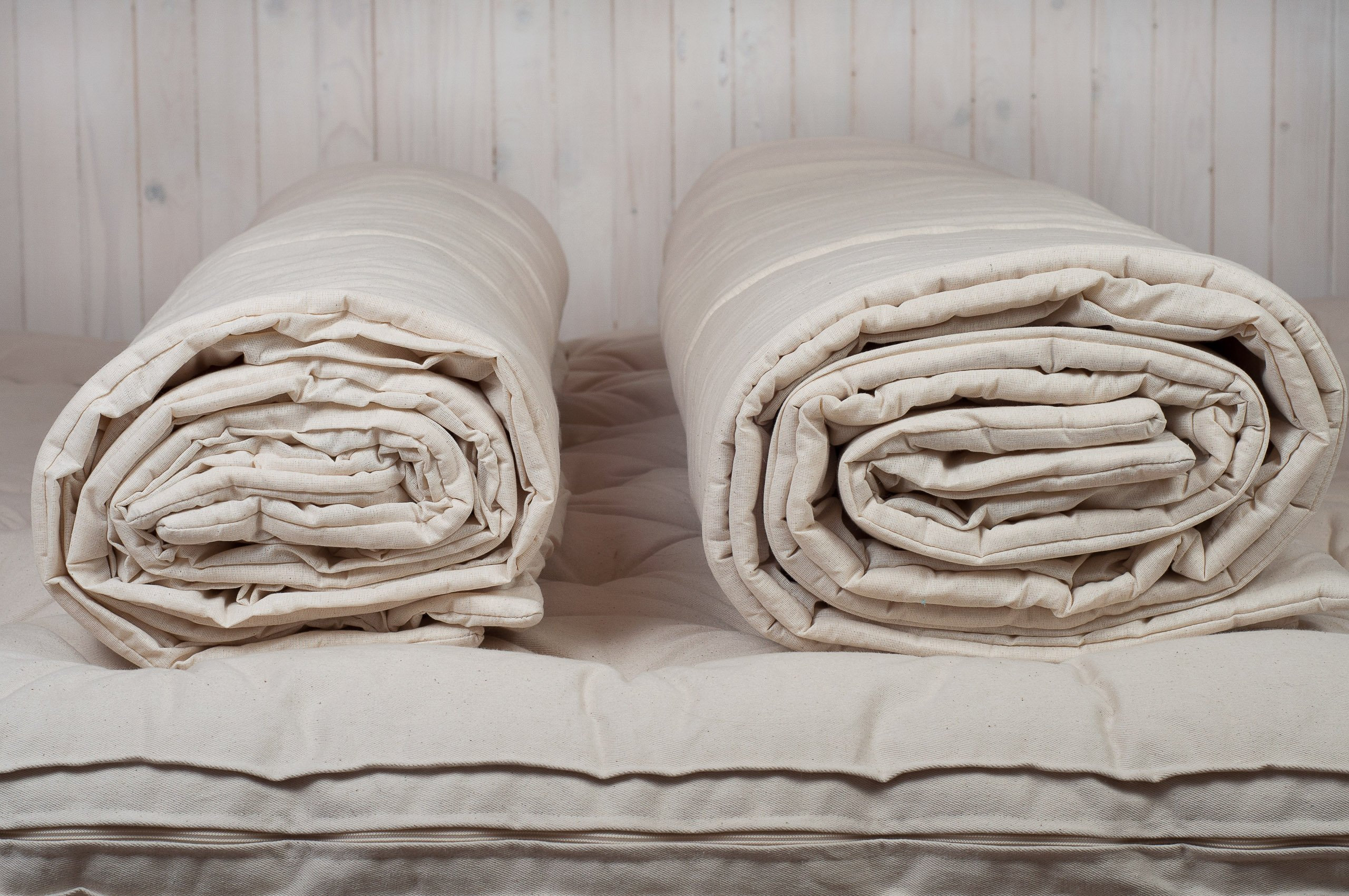 Home of Wool / Handmade Wool-filled Duvet Insert / Quilt / Comforter / Doona / Summer or Winter thickness / Natural / Non-toxic / Full, Twin, Queen, King or Any Custom Size by Home Of Wool (Image #4)