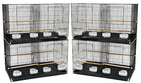 YML - Juego de 4 jaulas de cría con Separador, tamaño Mediano ...