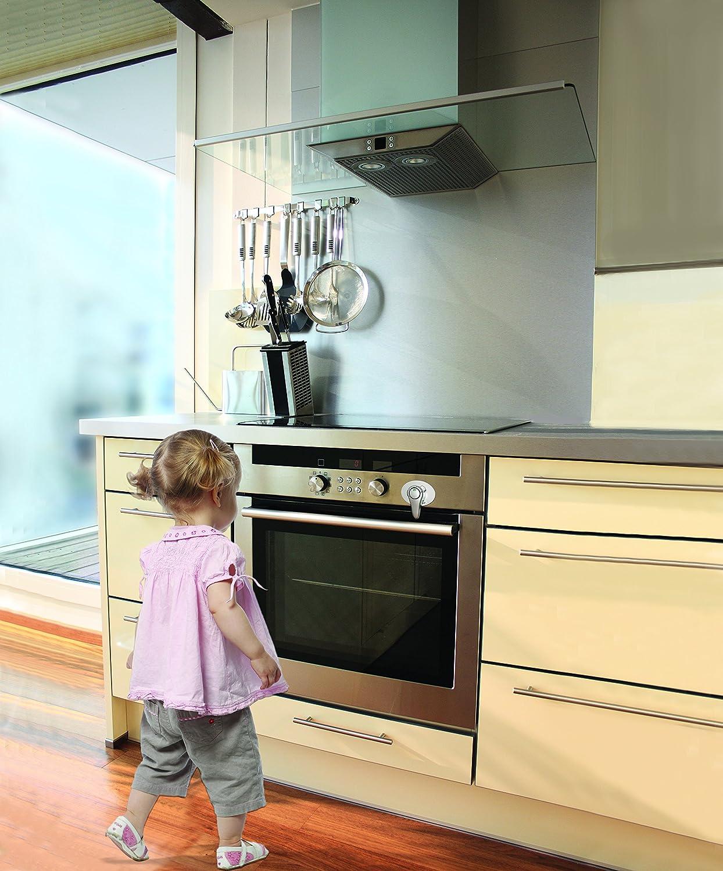 DreamBaby G1004 Style Bloque-porte de cuisini/ère Argent/é