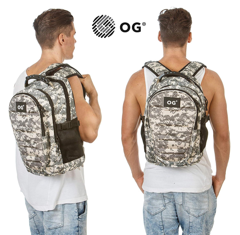 Portable OG Online/&Go Sac a Dos Militaire Tactique Gris USB Imperm/éable de 30L Cyclisme Trekking Excursion Montagne Camping Camouflage Homme Voyage Chasse Randonn/ée