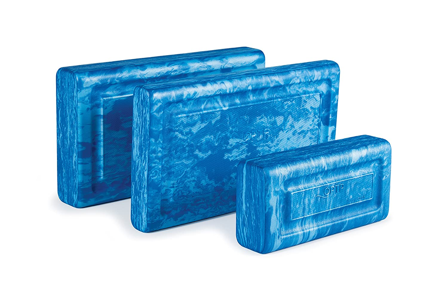Pilates and Physical Therapy; 3 Size Options OPTP Posture Brick Foam Blocks for Positioning and Support in Yoga