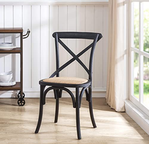 2L Lifestyle Dining Side Chair, Black