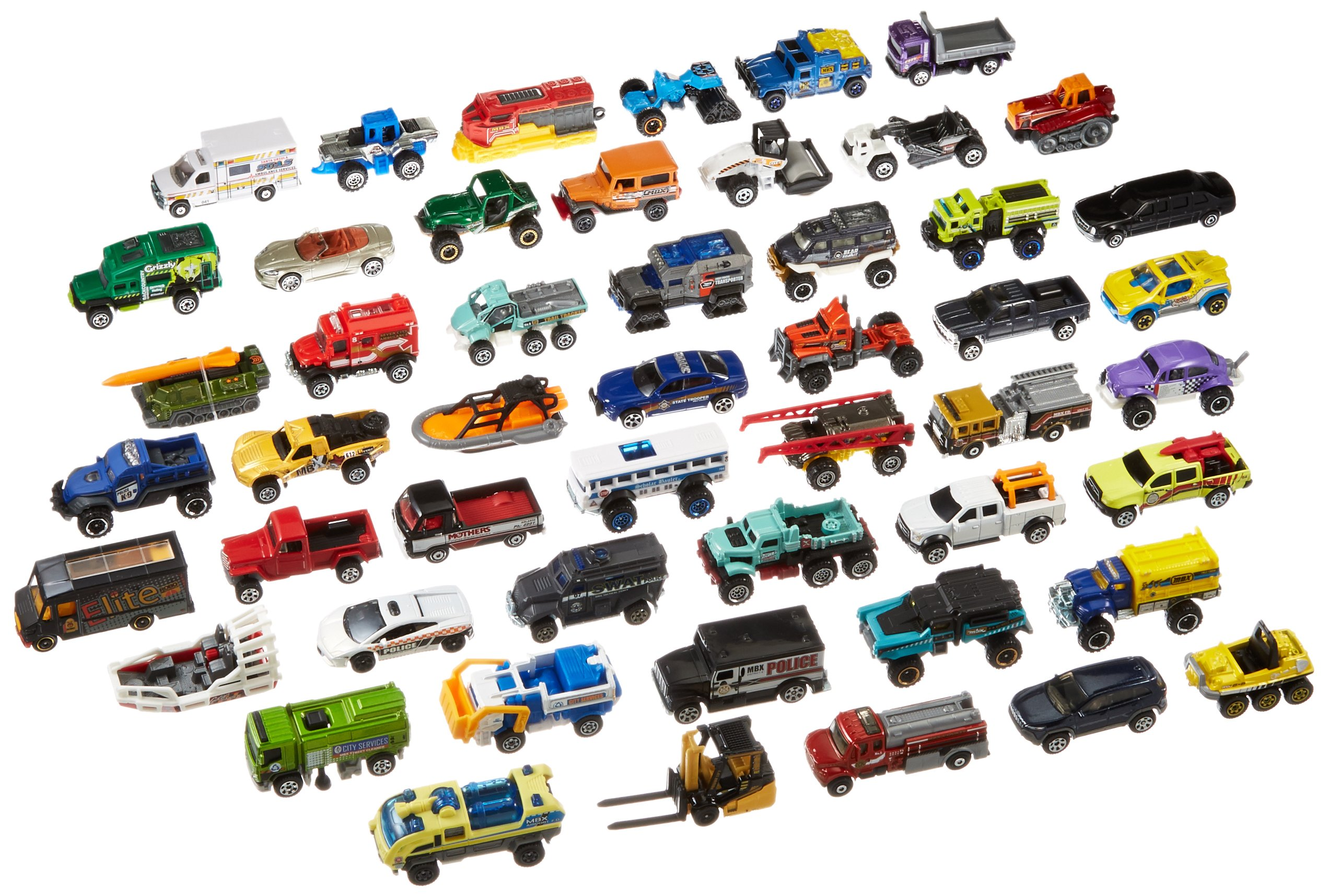 Huge Lot 50 Car Pack Matchbox Vehicles Individual Packages