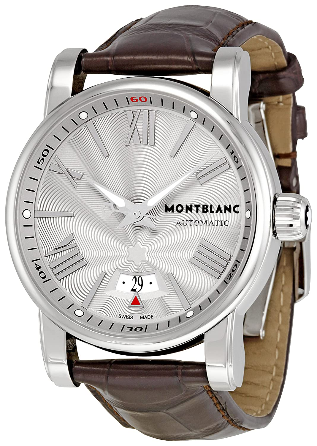 1fd5c519423 Amazon.com: Montblanc Men's 102342 Star 4810 Silver Dial Watch: Watches