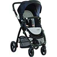 Safety 1st Visto 4 Wheel Stroller with Reversible Seat suitable for Newborns, Dusk Grey