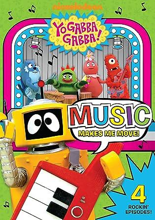 Amazon com: Yo Gabba Gabba! - Music Makes Me Move: Lance Robertson