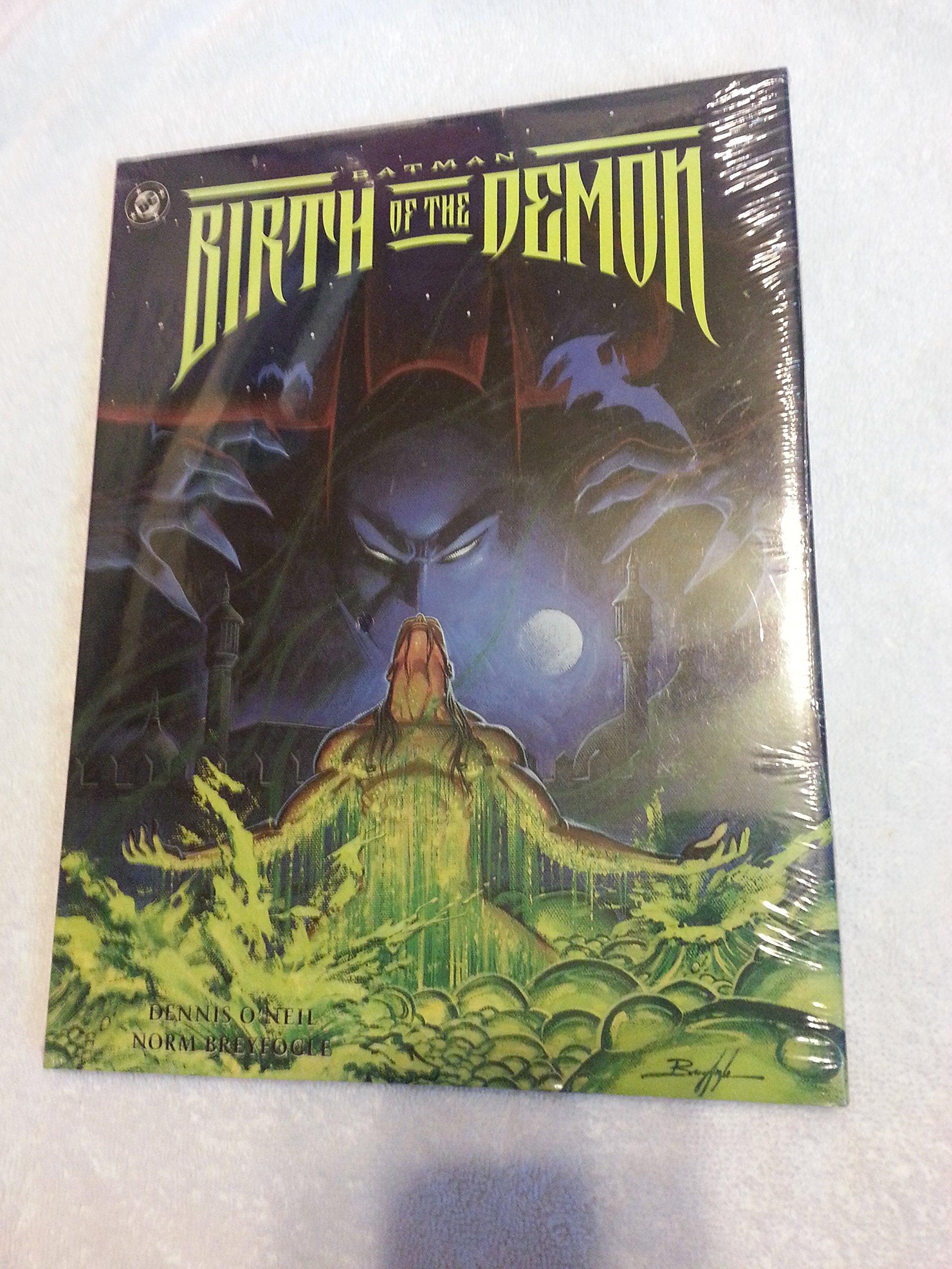 Batman: Birth of the Demon: Amazon.es: Dennis ONeil: Libros