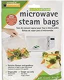 Set of 25 Quickasteam Microwave Steamer Bags