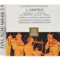 Monteverdi : L'orfeo (Daw 50)