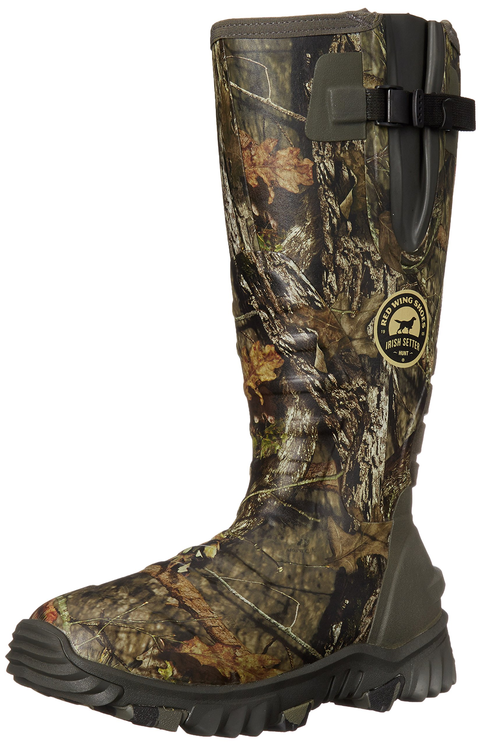 Irish Setter Men's 4883 Rutmaster 2.0 17'' 800-Gram Rubber Boot, Mod Country Camo, 8 E US