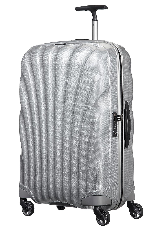 [サムソナイト] スーツケース Cosmolite コスモライト スピナー65 FL2 無料預入受託サイズ 保証付 68L 69cm 2.3kg V22*09306 B01BBZXNXIシルバー