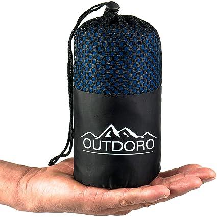 outdoro cabaña Saco de dormir, ultra ligero de viaje saco de dormir – Solo 350