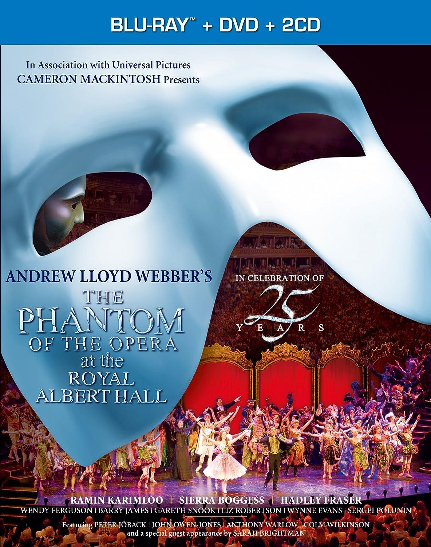 オペラ座の怪人 25周年記念公演 in ロンドン 豪華BOXセット(初回生産限定) [Blu-ray] B006I1S8M2