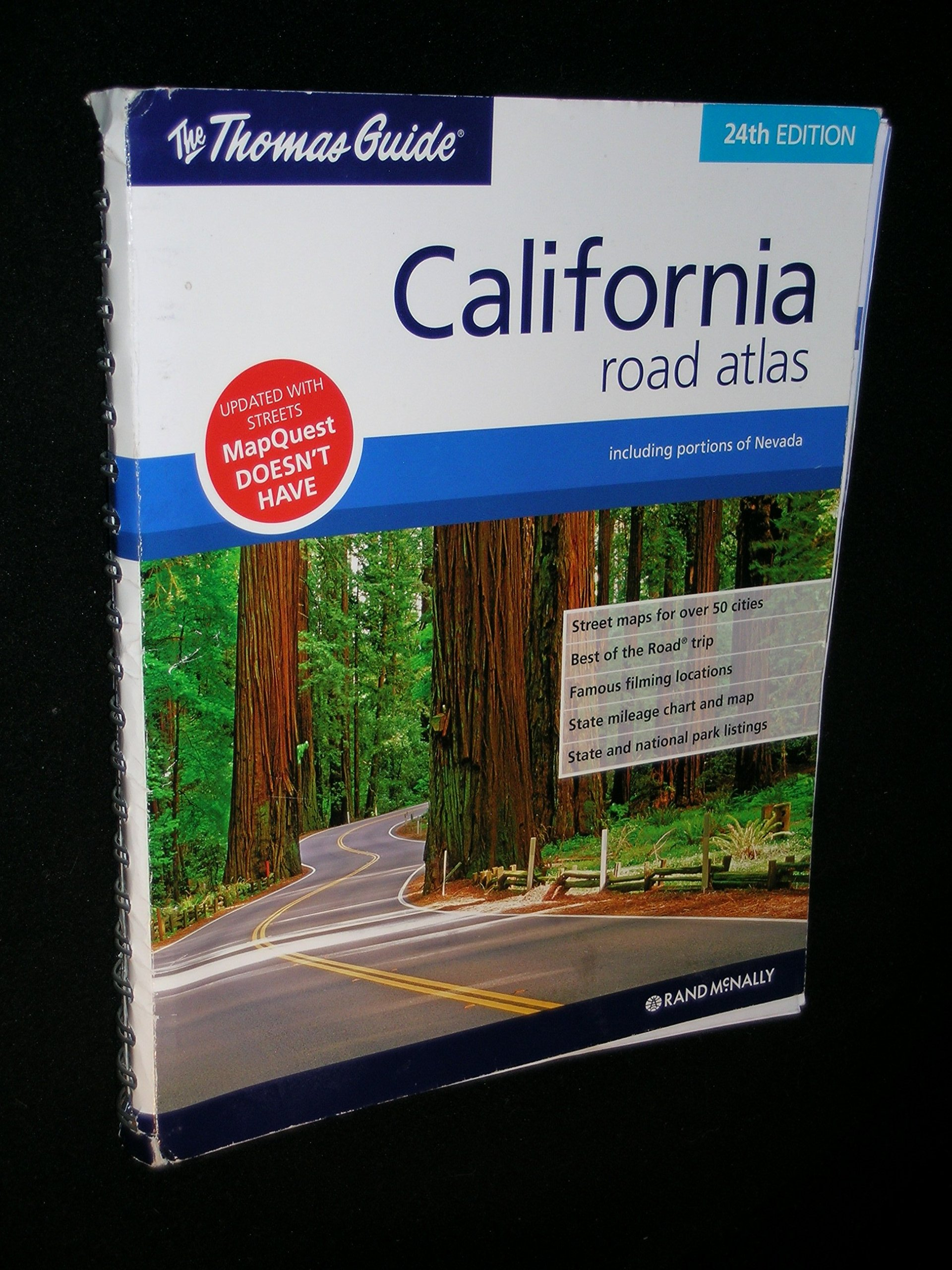 Read Online The Thomas Guide California Road Atlas pdf epub