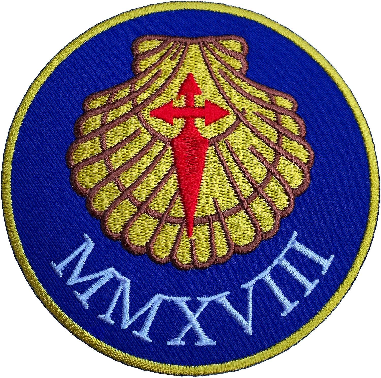 CAMINO 2019 Patch Embroidered Iron on Badge Spain Saint James Way Santiago Trek