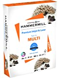 Hammermill Paper, Premium Inkjet & Laser Multipurpose Paper, 8.5 x 11 Paper, Letter Size, 24lb Paper, 97 Bright, 1 Ream / 500 Sheets (166140R) Acid Free Paper (Packaging may vary)