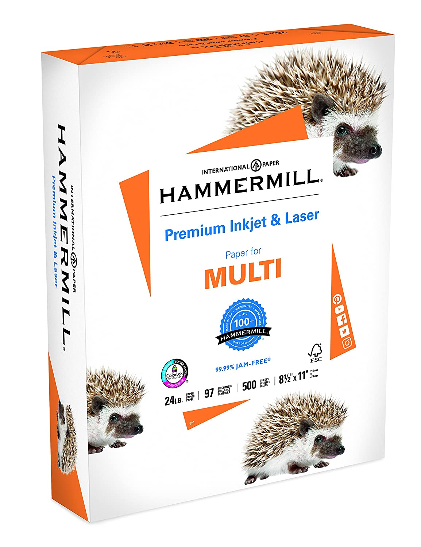 Hammermill Paper, Premium Inkjet and Laser Multipurpose Paper