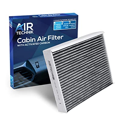 AirTechnik CF12150 Replacement for Ford/Lincoln - Premium Cabin Air Filter w/Activated Carbon: Automotive