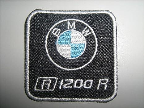 PATCH DE BRODERIE ,, BMW R1200R Patch Écusson brodé thermocollant cm ... e2fd94d9a66