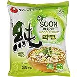 Nongshim Soon Veggie Noodle Soup, 3.95 Ounce (Pack of 20)
