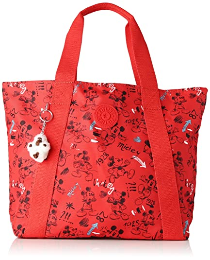 74d74ed562 Kipling D Hye, Women's Tote, Multicolour (Sketch Red): Amazon.co.uk ...