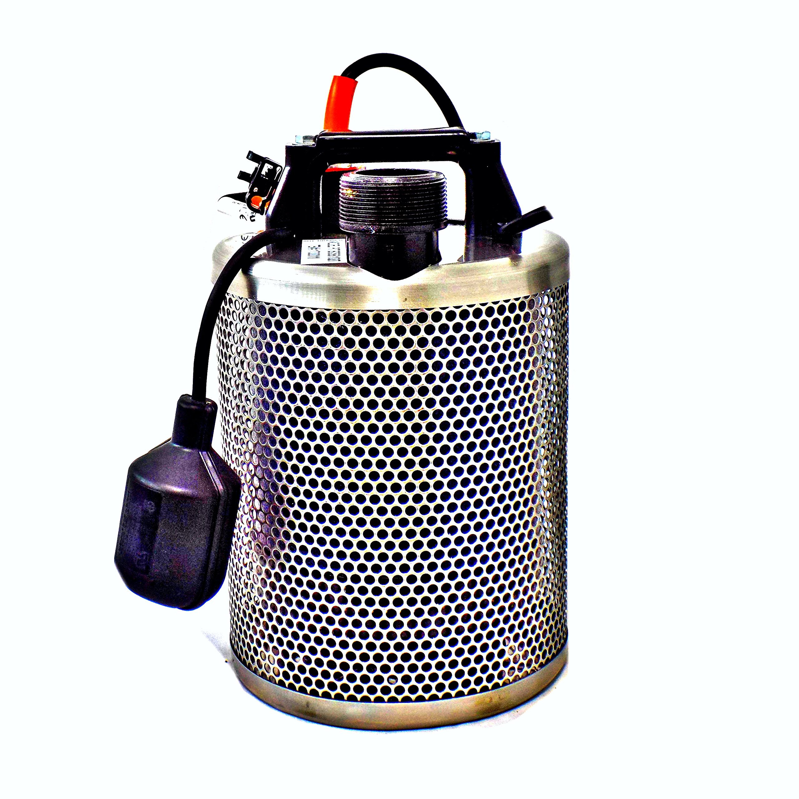 Site Drainer Contractor 102T 1 HP Fully Submersible Non-Clogging Dirty Water Sump Pump (102T)