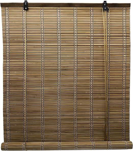 Solagua 6 Modelos 14 Medidas de estores de bambú Cortina de Madera ...