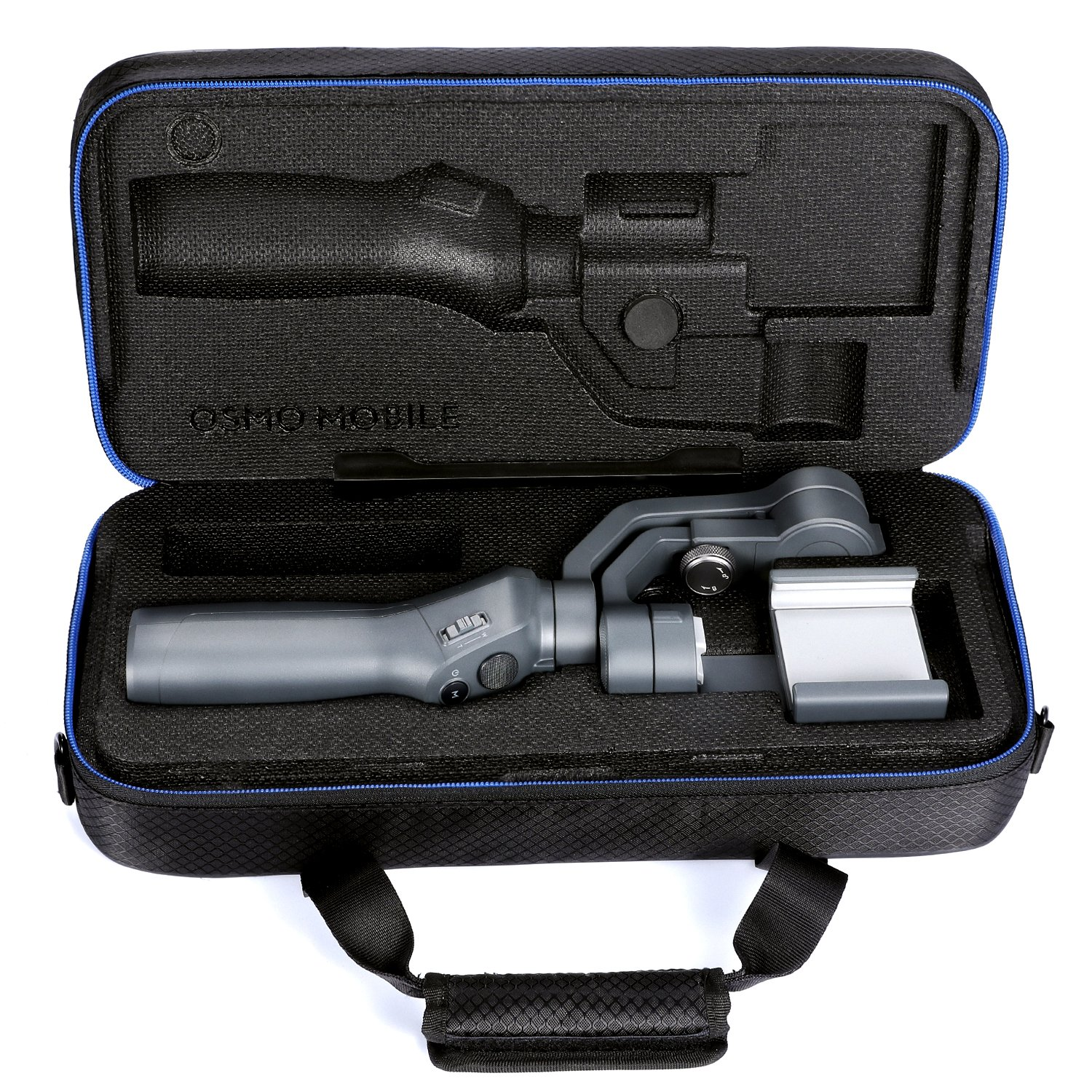 DJI Osmo Mobile 2 Carrying Case by DACCKIT - fit for DJI osmo mobile 2 Handheld Smartphone Gimbal with tripod combo, Extension Stick, Base by DACCKIT (Image #2)