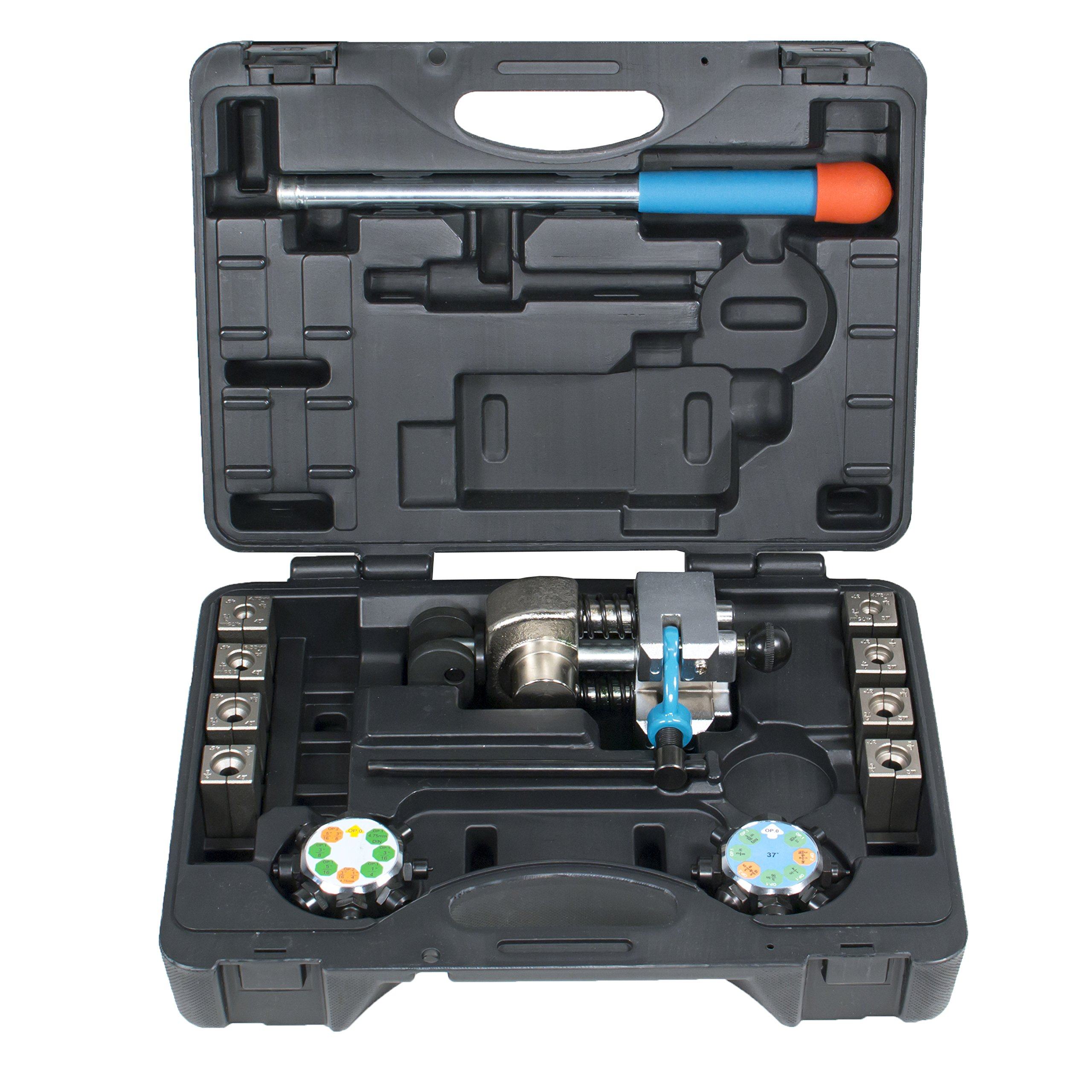 TGR Professional Brake Line Flaring Tool- 45 and 37 degree Set by Tool Guy Republic (Image #2)