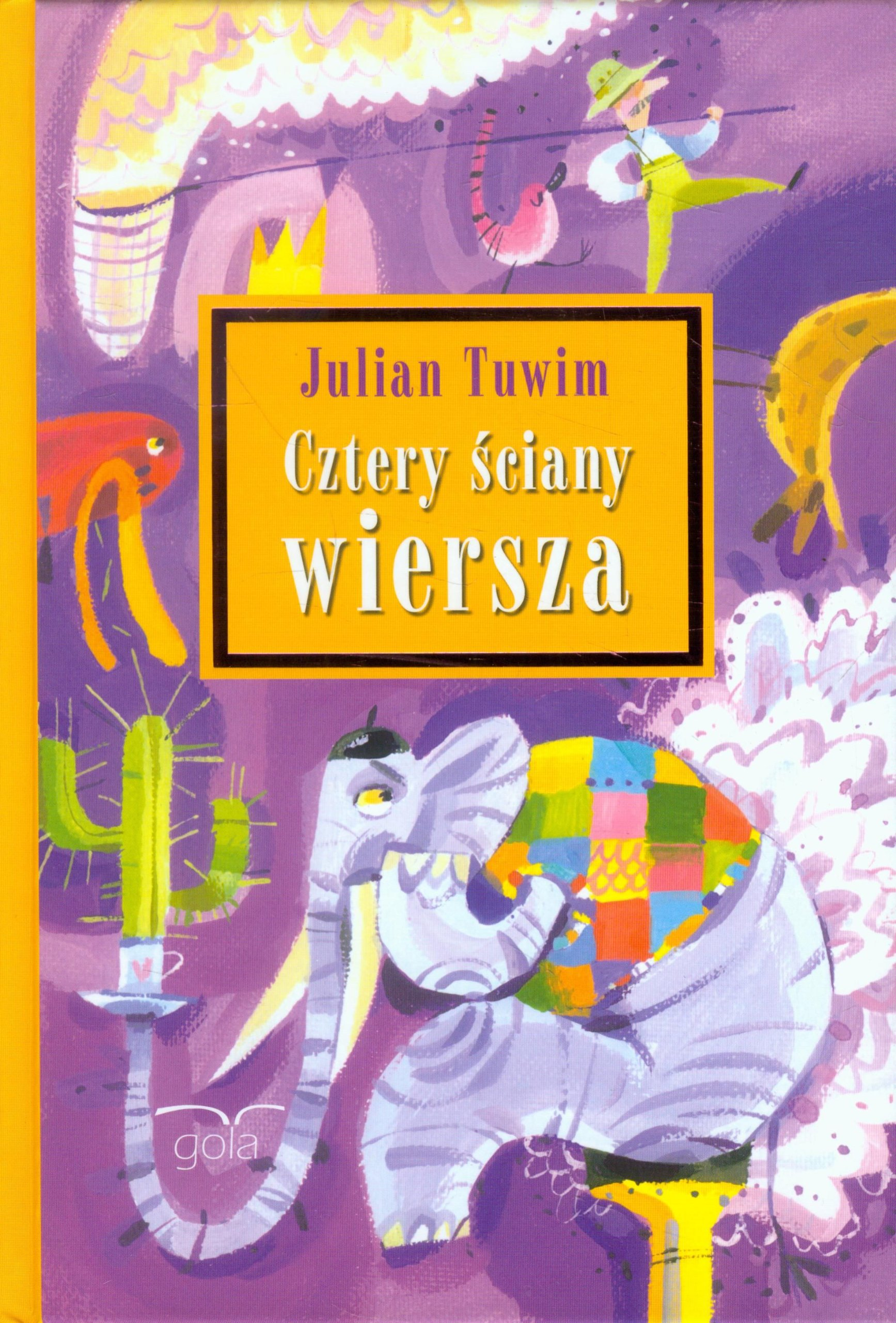 Cztery Sciany Wiersza Amazones Julian Tuwim Libros En