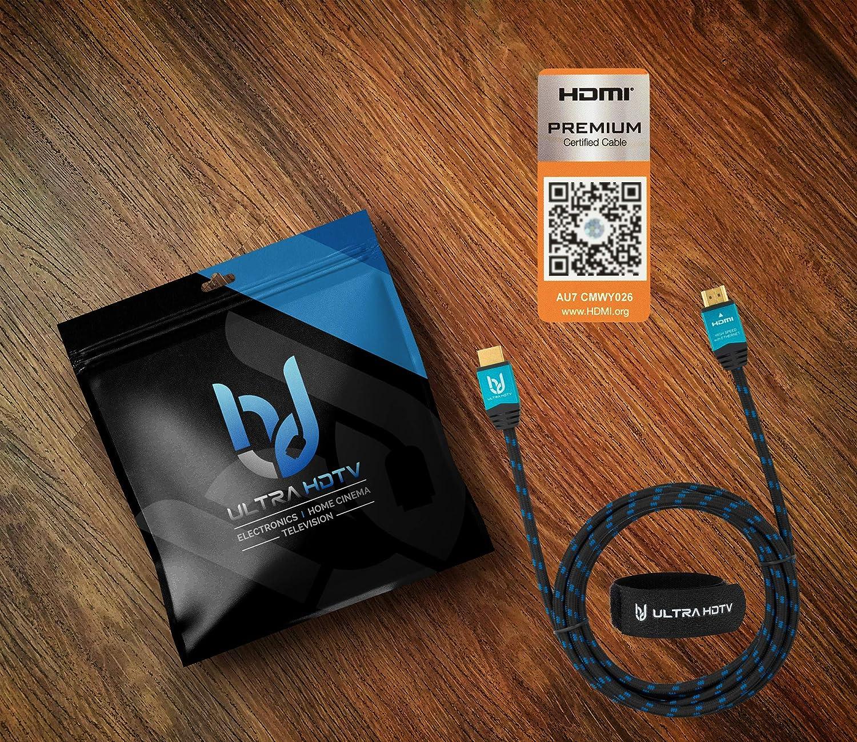 Ultra HDTV 4K HDMI Kabel Premium Zertifiziert 3 Meter Amazon