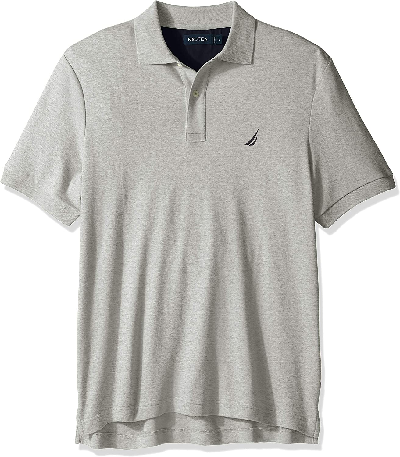 Nautica Men's Classic Fit Short Sleeve Solid Soft Cotton Polo Shirt