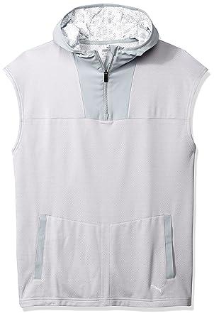 34168a6a1b13e Amazon.com  PUMA Men s Oceanaire Sleeveless Hoodie  Clothing