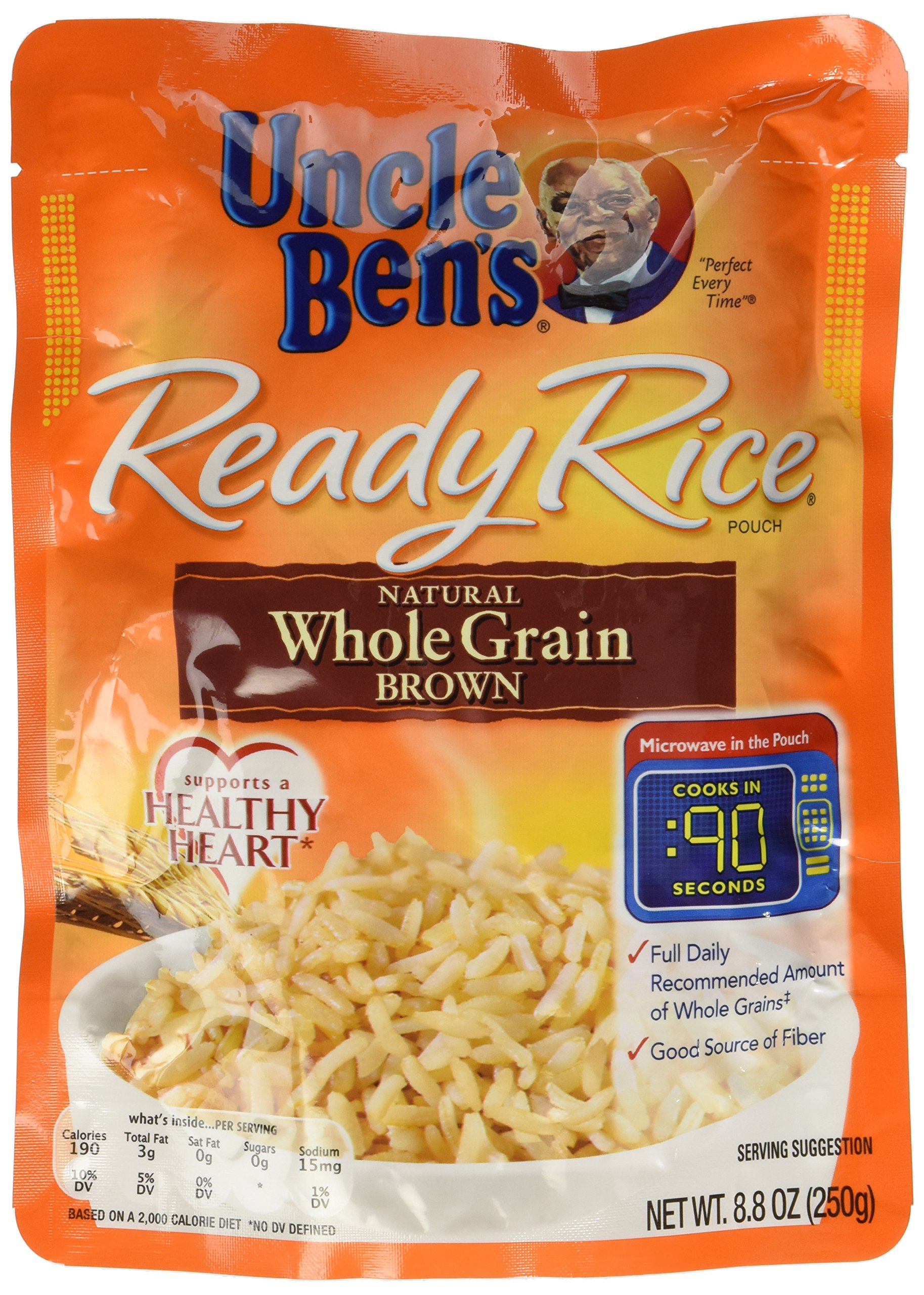 Uncle Ben's Ready Brown Rice, 8.8 oz