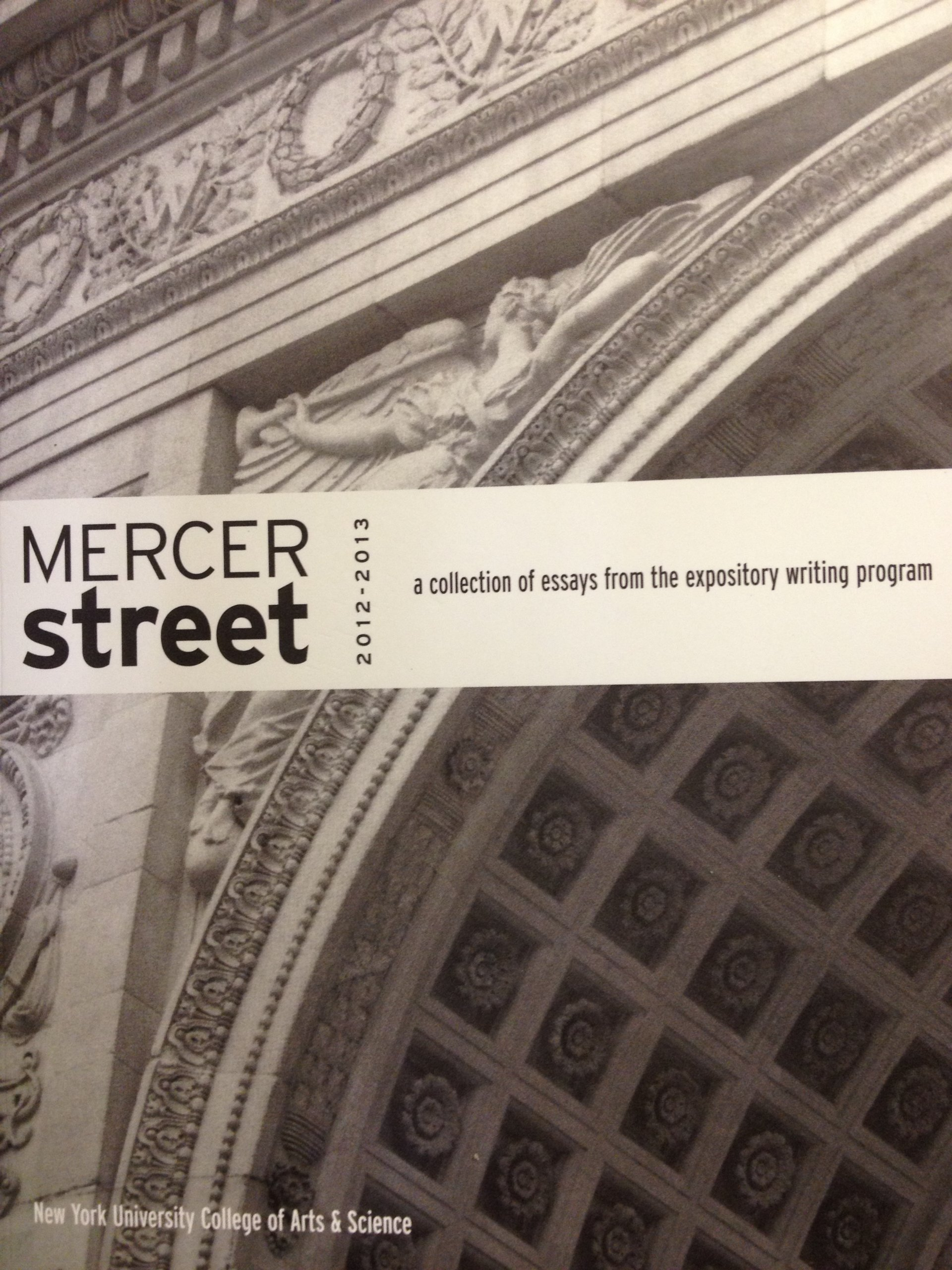mercer street new york university  mercer street 2012 2013 new york university 9782000054016 com books