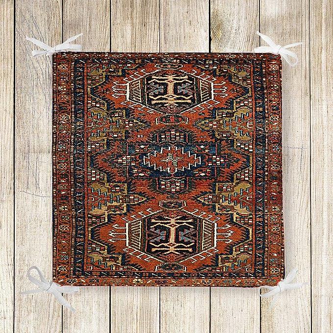 Incredible Amazon Com Else Brown Persian Retro Ethnic Kilim 3D Print Interior Design Ideas Gentotryabchikinfo