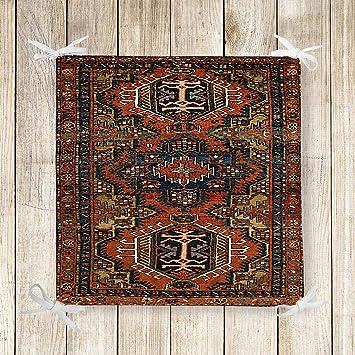 Brilliant Amazon Com Else Brown Persian Retro Ethnic Kilim 3D Print Interior Design Ideas Gentotryabchikinfo