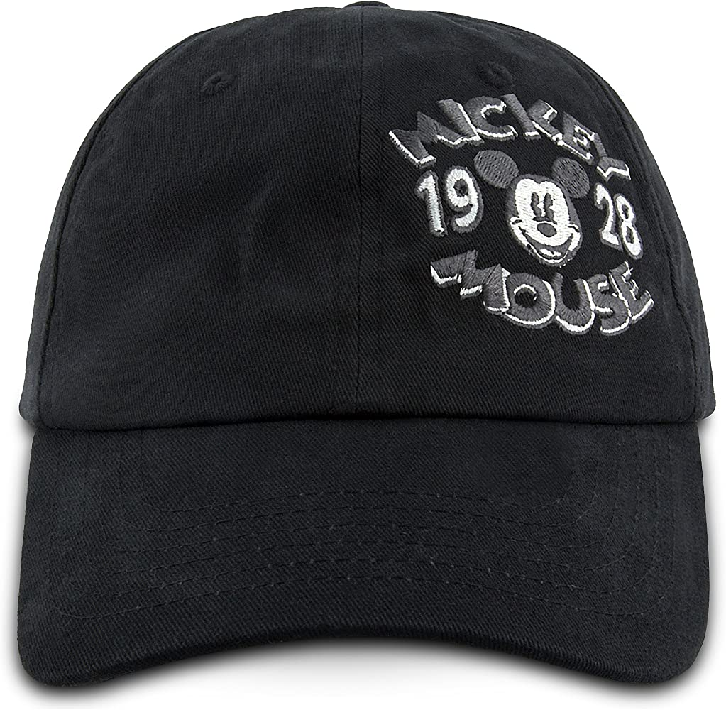 Disney Gorra de béisbol con Logo de Mickey Mouse Parks de 1928 ...
