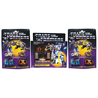soundwave Transformers G1 Reissue Bundle with Additional Decepticon Tapes- Frenzy, Laserbeak, Ravage and Rumble.: Toys & Games