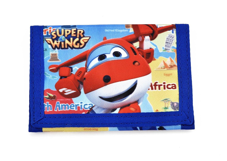 Super Wings Jett Portafoglio da Viaggio, 11 cm, Multicolore U94955 MC