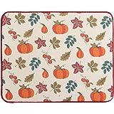 Kay Dee Designs H2769 Fall Autumn Leaves & Pumpkins Drying Mat