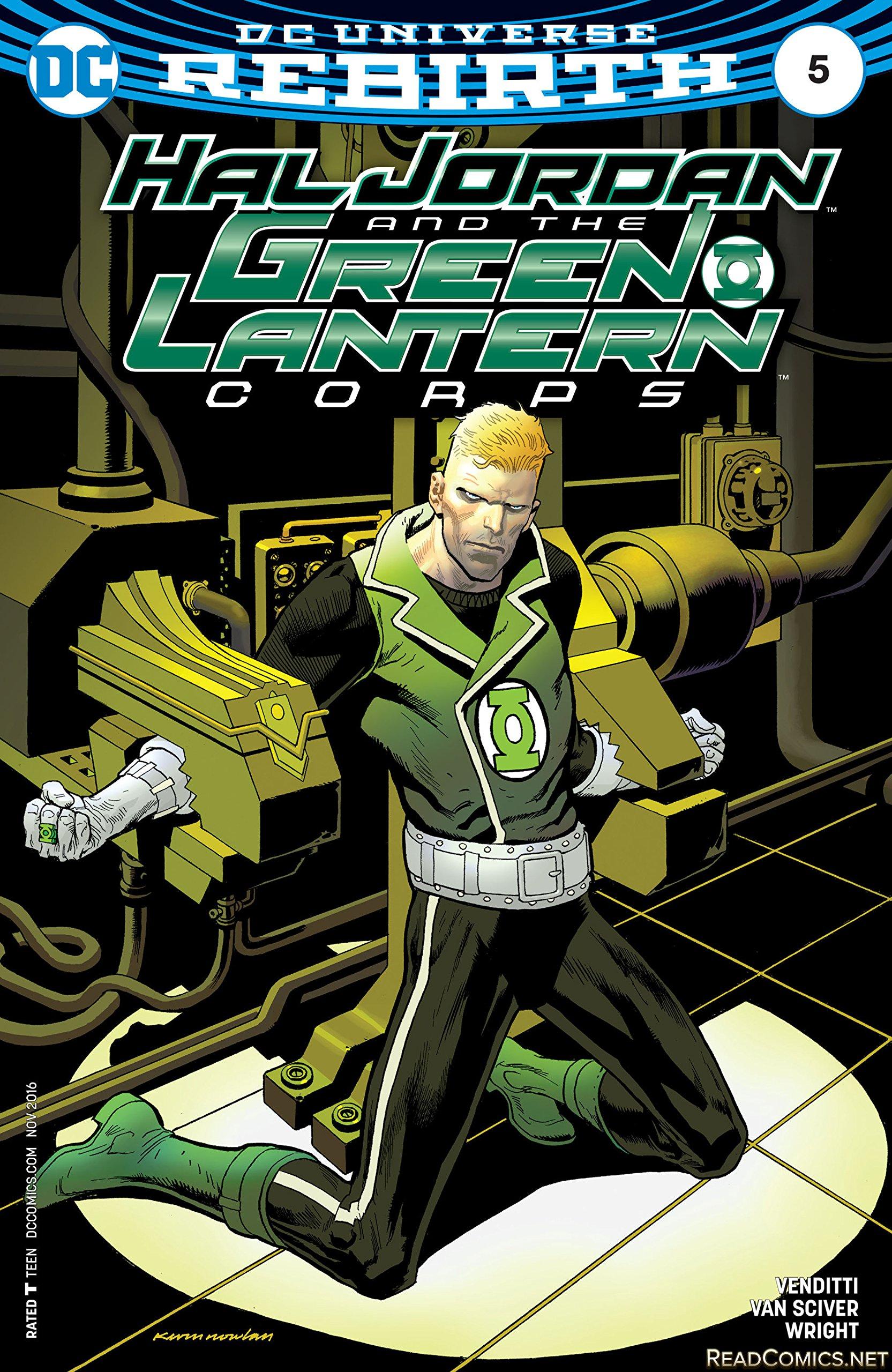 Read Online Hal Jordan and The Green Lantern Corps #5 Var Ed pdf epub