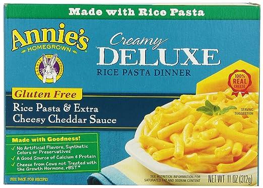 Annie de Naturals annies sin gluten Pasta y Cheddar, 11 oz ...
