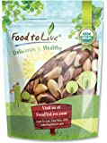 Organic Brazil Nuts (Raw, No Shell, Kosher) by Food to Live — 2 Pounds