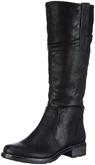 new product f0481 45b18 Rieker 99251-00 Damen Langschaft Stiefel