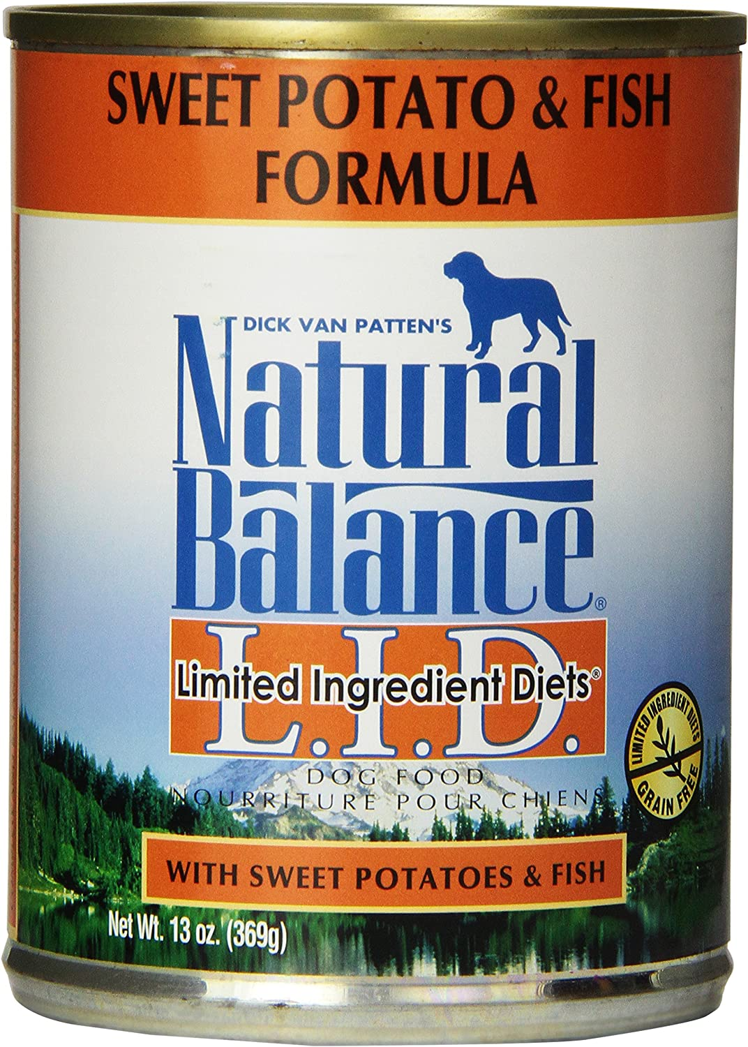 Natural Balance Fish Sweet Potato Formula Dog Food (Pack Of 12 13-Ounce Cans)