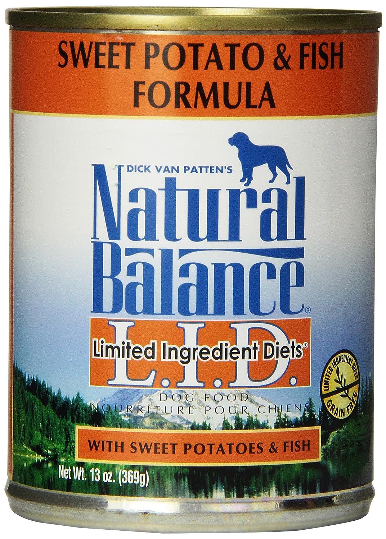 Natural Balance Fish Sweet Potato Formula Dog Food (Pack of 12 13-Ounce Cans)