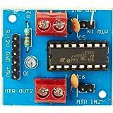 Elementz Engineers Guild Pvt Ltd L293D_MOTOR_DRIVER_BOARD L293D Ic Based Dc Motor/Stepper Motor Driver Board for Raspberry Pi Arm Arduino Avr Pic 8051