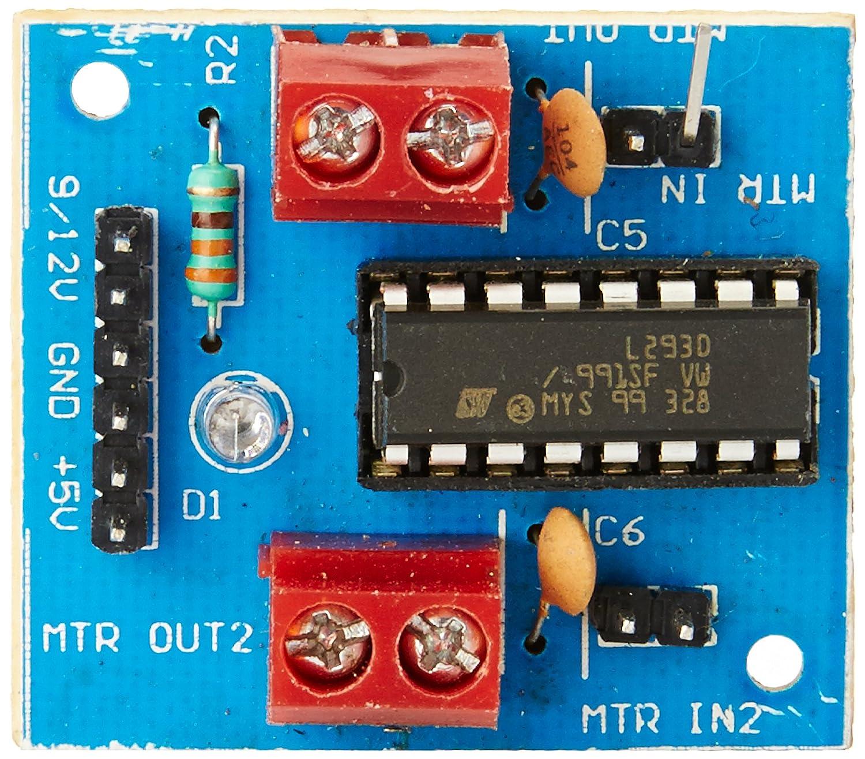L293d Motor Driver Module Pcb Layout Controlling Dc Motors Using Avr Microcontrollers Vishnu39s Blogs Elementz Engineers Guild Board 1500x1315