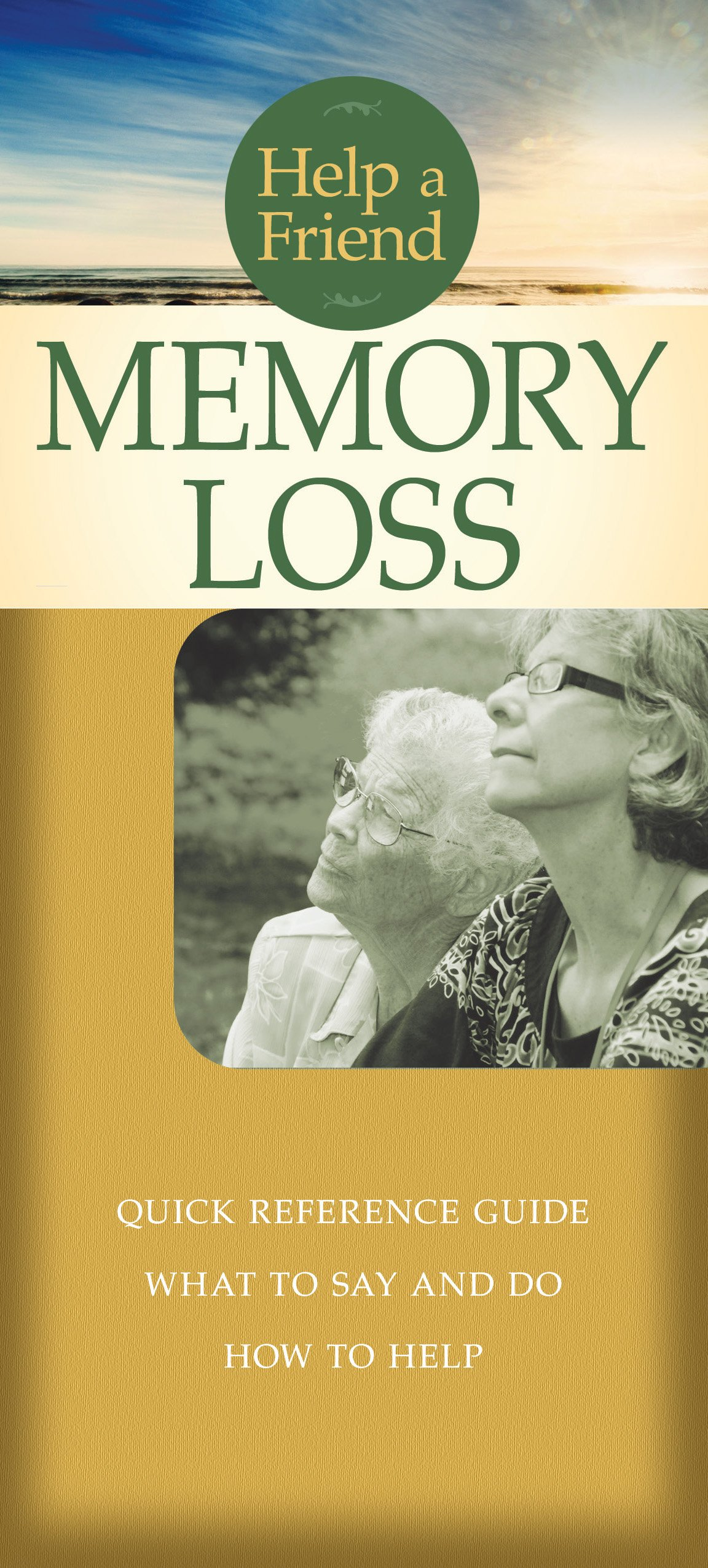 Memory Loss Pamphlet Help Friend product image